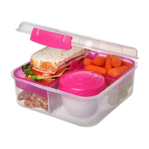 Sistema lunchbox bento 1250ml to-go pink