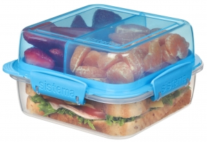 Sistema lunchbox składany lunch stack to-go 1240ml