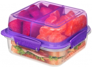 Sistema lunchbox składany lunch stack to-go 1240ml purple
