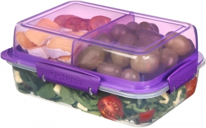 Sistema lunchbox składany lunch stack to-go 1800ml purple