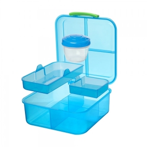 Sistema lunchbox bento 1250ml kolormix blue