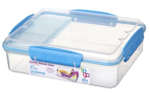 Sistema lunchbox snack attack duo 975ml to-go