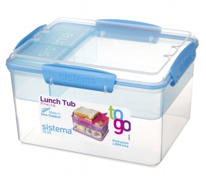 Sistema lunchbox lunchtub 2300ml to-go